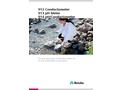 912 Conductometer - 913 pH Meter - 914 pH/Conductometer - Brochure