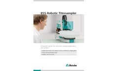 855 Robotic Titrosampler - Brochure