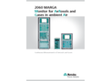 2060 MARGA Monitor for AeRosols and Gases in Ambient Air - Brochure