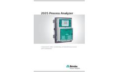 2035 Process Analyzer - Brochure