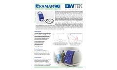 i-Raman EX - Portable Raman Spectrometer - Data Sheet