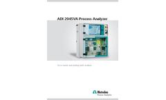 ADI 2045VA Process Analyzer - Trace Metal and Plating Bath Analysis - Brochure