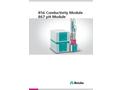 856 Conductivity Module - 867 pH Module - Brochure