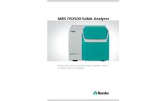 NIRS DS2500 Solids Analyzer - Brochure