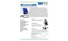 i-Raman Plus - Fiber Optic Raman System - Brochure