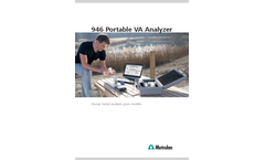 946 Portable VA Analyzer - Brochure