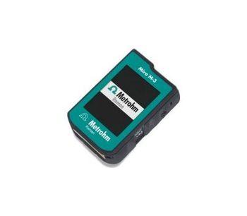 Metrohm - Model Mira M-3 - Handheld Raman Spectrometer for Basic Package
