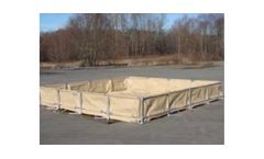 Model FSIB - Frame Supported Insta-Berm for Secondary & Spill Containment