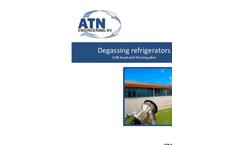 Degassing Refrigerators - Drill-Head and Piercing-Plier - Manual