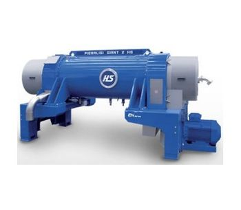 Pieralisi - Model GIANT Series - Decanter Centrifuges