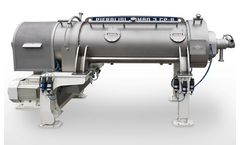 Pieralisi - Model JUMBO CPA Series - Decanter Centrifuges