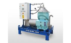 Pieralisi - Model FPC 6 CH 01 - Centrifugal Separators with Automatic Discharge