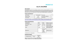 Allyl Chloride Datasheet