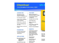 ChemScan UV-2150/S Chloramination Analyzer - Brochure