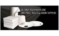 Oil Only Absorbents – Pads and Rolls