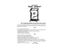 Original Reusable Bag and Rack Recycling System - Brochure