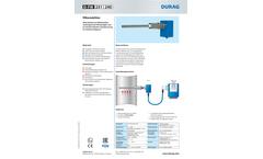 Durag - Model D-FW 231 - Filter Monitor Brochure