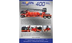 C&C Mfg Al-Jon Series 400XL - Automatic Baler Machine - Brochure