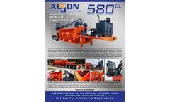 Aljon 580CL Twin-Ram Full Featured Car Logger / Baler - Brochure