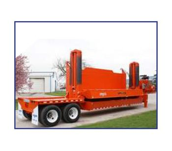 Aljon Series by C&C Manufacturing - Model Impact 5 Car Crusher - Revolutionary Quad-Post Guide System
