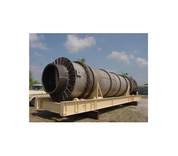 Tarmac - Model IND4.5: 4.5′ - Indirect Fired Thermal Soil Remediation Plant