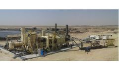 Model IND8.75 - 8.75` Indirect Fired Thermal Soil Remediation Plant