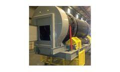 Tarmac - Model DM5.5 - 5.5` Counter Flow Aggregate Dryer / Drum Mixer