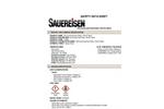 ConoCrete FastPatch - Model No. 149 - Patch, Part B, Resin - MSDS