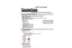 ConoCrete FastPatch - Model No. 149 -  Part C, Powder, Dark Gray - MSDS