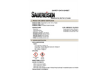 Sauereisen RestoKrete - Model No. 208 - Part C, Powder - MSDS