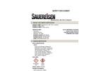 Sauereisen RestoKrete - Model No. 208 - Part A, Hardener - MSDS