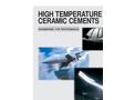 High Temperature Ceramic Cements - Brochure
