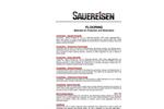 Sauereisen Flooring Line Card-2014
