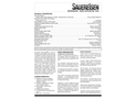Sauereisen SewerGard No. 210S Spray Applied Polymer Lining for Municipal Wastewater - Technical Data Sheets