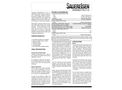 Sauereisen SewerSeal No. F-170 Cementitious Water Infiltration Barrier - Technical Data Sheet