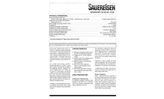 Sauereisen SewerGard Glaze No. 210GL Protective Coating System - Technical Data Sheet