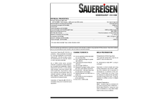 Sauereisen SewerGard 210XHB Chemical-resistant Barrier For Municipal Wastewater Environments - Technical Data Sheet
