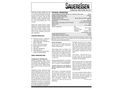 Sauereisen ConoFlex Urethane No. 381 Aromatic Polyurethane Lining - Technical Data Sheet