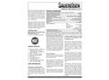 Sauereisen ConoFlex Urethane No. 381.61 - Aromatic Polyurethane Lining - Technical Data Sheet
