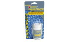 Test pool phosphate levels to deter algae growth