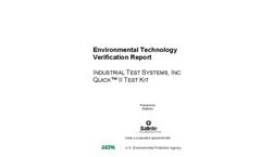 Quick™ II Test Kit: Verification Report