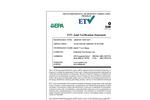 Quick™ Low Range Test Kit: Verification Statement