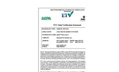 Quick™ Ultra Low II Test Kit: Verification Statement