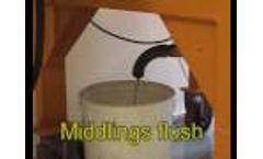 Magnetic Separation - HI filter Processing Sand Demo Video