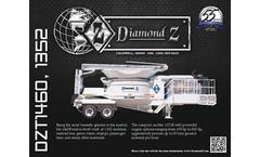 Diamond Z - Model 1352B /1352BL - Self-Powered Loader for Tub Grinder - Datasheet