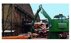 Crane Equipment - Model 300 SW - Solid Waste Machine