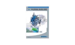 VACUREMA Inline Sheet Brochure