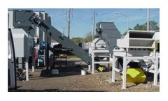 Glass Aggregate - Model GLS - Recycling Systems