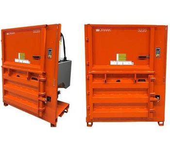 Orwak Launches 3220 - The New Extra Low-Built Vertical Baler