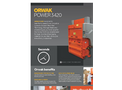 ORWAK POWER 3420 - Product Sheet
